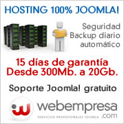 hosting joomla